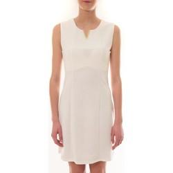 Vêtements Femme Robes courtes Vera & Lucy Robe sans manches Blanc R6236 Blanc
