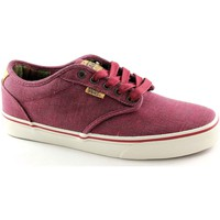 Chaussures Homme Baskets basses Vans Chaussures  ATWOOD DELUXE XB2ILO rouge hommes espadrilles lacets Rosso
