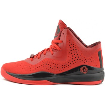 Chaussures Homme Baskets montantes adidas Originals Baskets Homme  Performance Derrick ROSE 773 III Black red Rouge