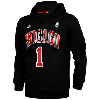 Vêtements Homme Sweats adidas Originals Sweat Capuche  NBA Chicago Bulls D-Rose Noir Noir
