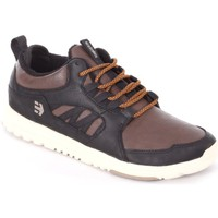Chaussures de Skate Etnies SCOUT MT black brown