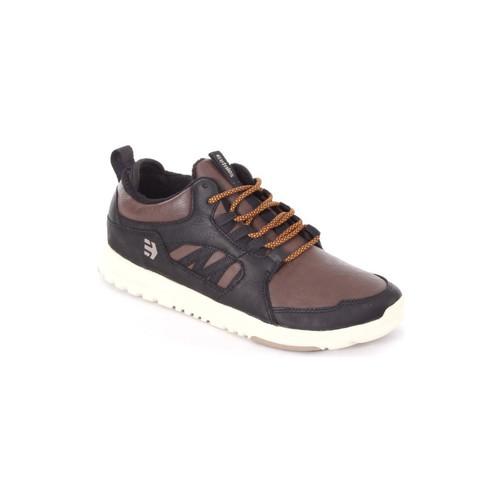 Chaussures Homme Chaussures de Skate Etnies SCOUT MT black brown Noir