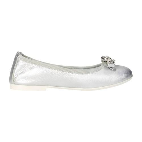 Chaussures Fille Ballerines / babies Blumarine Blumarine  D1053 Ballerines Fille Argent Argent