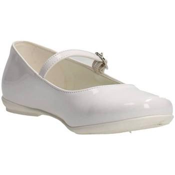 Chaussures Fille Ballerines / babies Le Petit Bijou 0000100 Blanc