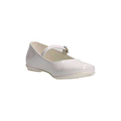 Chaussures Fille Ballerines / babies Le Petit Bijou 0000100 Ballerines Fille Blanc Blanc