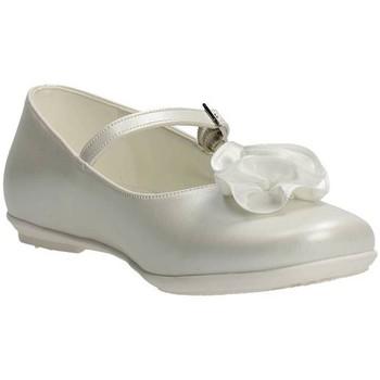 Chaussures Fille Ballerines / babies Le Petit Bijou 0000400 Ballerines Fille Blanc Blanc
