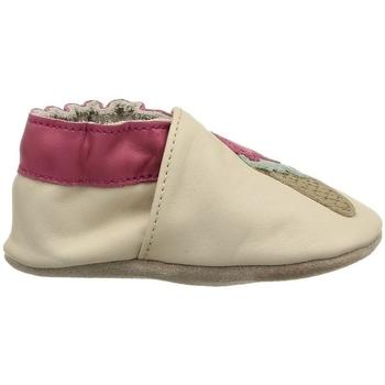Chaussures Fille Chaussons bébés Robeez 473720 beige