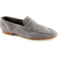 Chaussures Homme Mocassins J.p. David 187 gris chaussures en daim homme loafers unlined Grigio