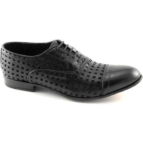 Chaussures Homme Richelieu J.p. David 34337 formelles brogues en cuir toe chaussures hommes noirs fai Nero