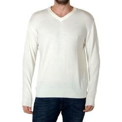 Vêtements Homme Pulls Pascal Morabito Touché Cachemire PMH 09 Blanc