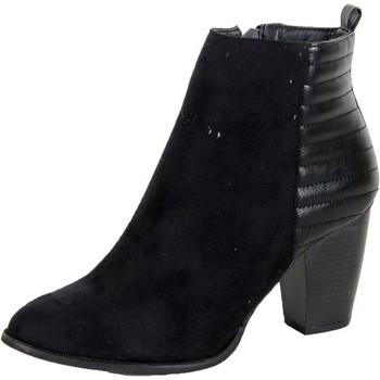Enza Nucci Bottines  Noir Noir - Livraison Gratuite avec  - Chaussures Boot Femme