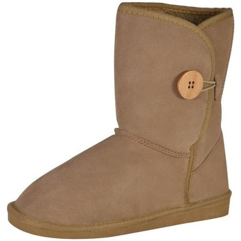 Bottes de neige The Divine Factory Bottines  TDFC856 Beige