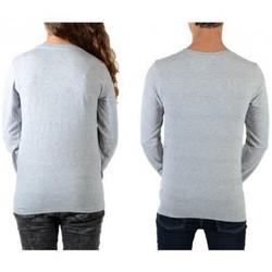Vêtements Homme T-shirts manches longues Eleven Paris Reige LS Mixte (Garçon / Fille) Chiné Gris