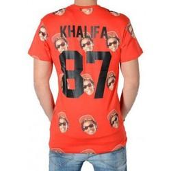 Vêtements Homme T-shirts manches courtes Eleven Paris Olyfa M Print Rouge