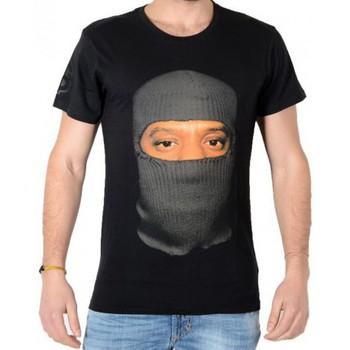 Vêtements Homme T-shirts manches courtes Eleven Paris Cager M Noir