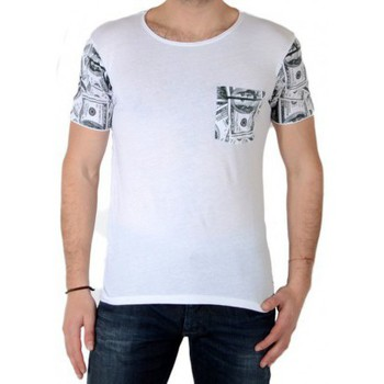 Vêtements Homme T-shirts manches courtes Japan Rags Tee Shirt  Dols Blanc Blanc