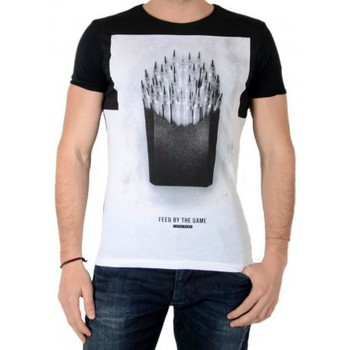Vêtements Homme T-shirts manches courtes Japan Rags Tee Shirt Frenchfries Noir Noir
