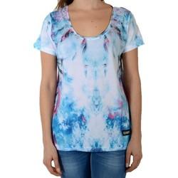 Vêtements Femme T-shirts manches courtes Eleven Paris Hocean W Olocan Print Bleu