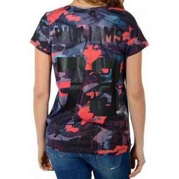Vêtements Femme T-shirts manches courtes Eleven Paris Tee Shirt  Harel W Olharel Bleu