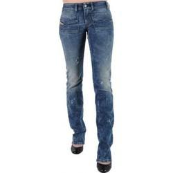 Vêtements Femme Jeans bootcut Diesel Jeans  Wenga 63F Bleu