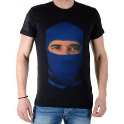 Vêtements Homme T-shirts manches courtes Eleven Paris Capose M Noir
