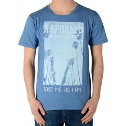 Vêtements Garçon T-shirts manches courtes Kaporal Tee Shirt  Enfant Calif Stone Bleu