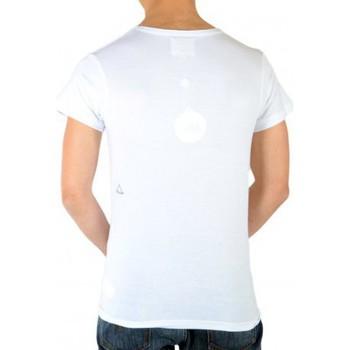 Vêtements Femme T-shirts manches courtes Eleven Paris Monroedream SS Mixte (Garçon / Fille) Blanc