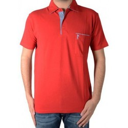 Vêtements Homme Polos manches courtes Marion Roth Polo  P2 Rouge Rouge