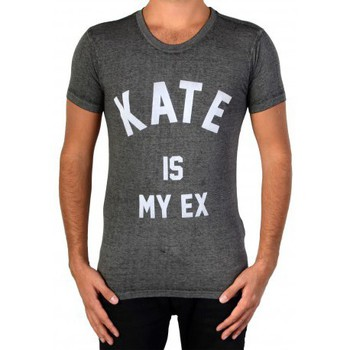 Vêtements Homme T-shirts manches courtes Eleven Paris Eleven Fakate M Burnout Jersey Black Gris
