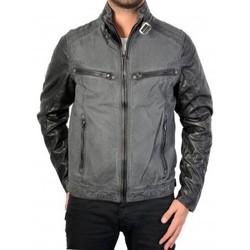 Vêtements Homme Blousons Deeluxe Blouson W15660 Edward Noir Noir