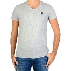 Vêtements Homme T-shirts manches courtes Redskins Tee Shirt  Wasabi Calder Grey Chine Gris