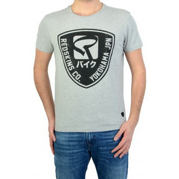 Vêtements Homme T-shirts manches courtes Redskins T-shirt  Paintball 2 Calder Grey Chine / Black Gris