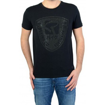 Vêtements Homme T-shirts manches courtes Redskins T-shirt  Paintball 2 Calder Black/Black Noir