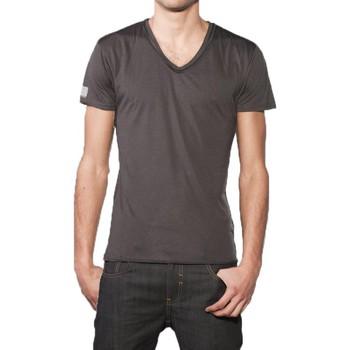 Vêtements Homme T-shirts & Polos Eleven Paris T-Shirt Basic V SS Rock Gris