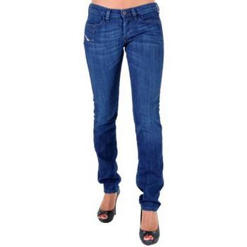 Vêtements Femme Jeans droit Diesel Jeans  Xeroz 67X Bleu
