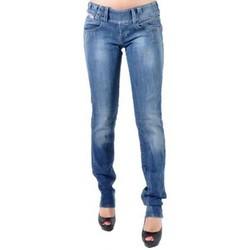 Vêtements Femme Jeans droit Diesel Jeans  Culturebelt 67Z Bleu