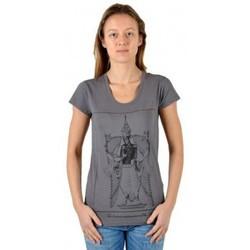 Vêtements Femme T-shirts manches courtes Eleven Paris T-Shirt Kriha Rock Gris