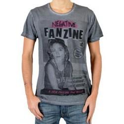 Vêtements Homme T-shirts manches courtes Eleven Paris T-Shirt Fanzine 4 Gris