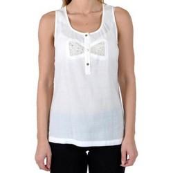 Vêtements Femme Débardeurs / T-shirts sans manche Good Look Top Blanc