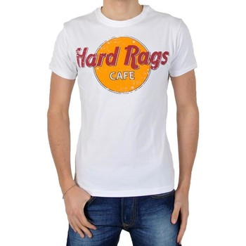 Vêtements Homme T-shirts manches courtes Japan Rags Tee Shirt Hard Rags Blanc Blanc