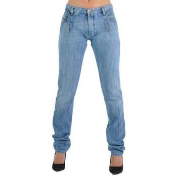 Vêtements Femme Jeans droit Diesel Jeans  Looi 86J Bleu