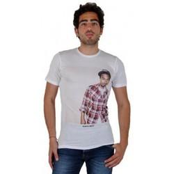 Vêtements Homme T-shirts manches courtes Eleven Paris Tee Shirt Kanye West TS Blanc Blanc