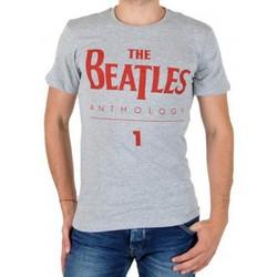 Vêtements Homme T-shirts manches courtes Eleven Paris Beatles Logo TS Chiné Gris