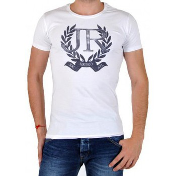 Vêtements Homme T-shirts manches courtes Joe Retro Tee Shirt  Trunk Blanc Blanc