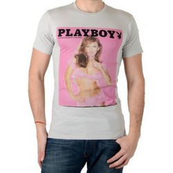 Vêtements Homme T-shirts manches courtes Eleven Paris Tee Shirt PB Pink M Play Boy Wind Rose
