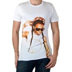 Vêtements Homme T-shirts manches courtes Eleven Paris Tee Shirt Wayn Lil Wayne Blanc Blanc