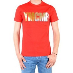 Vêtements Homme T-shirts manches courtes Ymcmb Tee Shirt  Rouge / Or / Argent Rouge