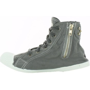 Chaussures Femme Baskets mode Kiss And Walk Basket  Miami Gris Gris