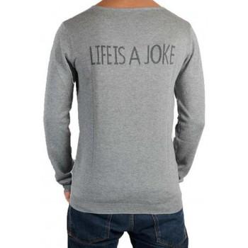 Vêtements Homme Pulls Eleven Paris Joke Mixte (Garçon / Fille) Gris