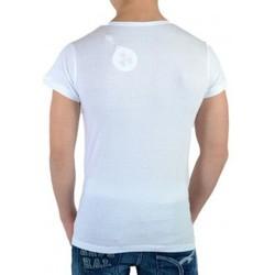 Vêtements Homme T-shirts manches courtes Eleven Paris SF SS Mixte (garçon / fille) Blanc